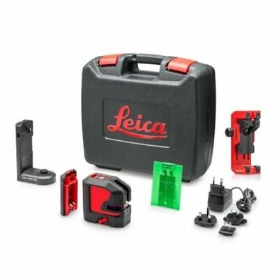 New  Leica Lino L2G G Cross Line Laser c/w Rechargeable Battery