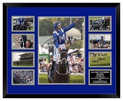 Winx Farewell 'All Hail The Queen' 33 Signed Limited Edition Framed Memorabilia