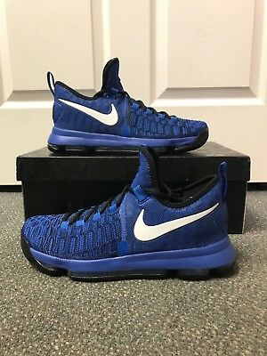 new style f6f3e 6627a Nike Zoom KD 9 IX Game Royal Blue Black 100% Authentic Size 11 Durant Brand