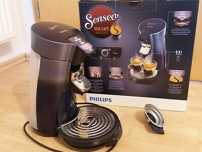 Philips Senseo HD 6566/60 Viva Cafe Duo Select Kaffeepadmaschine WIE NEU 1x ben.