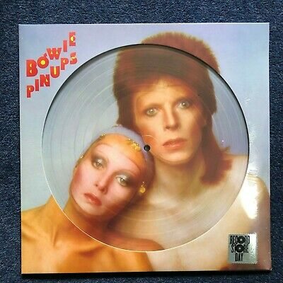 "David Bowie PinUps Sealed 12"" Picture Disc Vinyl LP Record Store Day (RSD) 2019"
