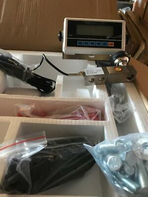 Floor scale kit, Build your own floor scale 70,000 lb Kit with 4 20k Load cell