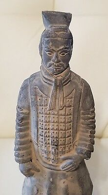 Vintage Asian Man Figure Statue Chinese Japanese clay? pottery?
