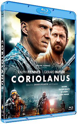 Coriolanus (Blu-ray) region B European new English spoken