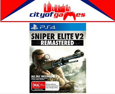 Sniper Elite V2 Remastered PS4 Game Brand New & Sealed In Stock