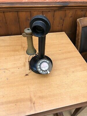Old Style Candle Stick Telephone