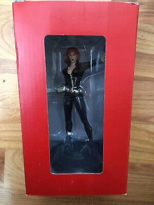 Marvel Fact File Collection Issue Black Widow Eaglemoss Figurine Figure -Damaged