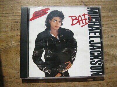 MICHAEL JACKSON - Bad (1987) - Excellent used CD