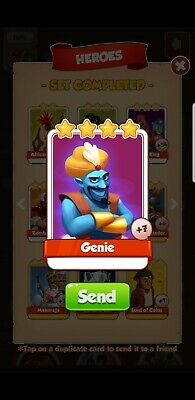 Coin Master Card - Genie - fast delivery