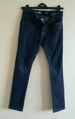 Boy's Next Super Skinny Indigo Blue Jeans Size 12 years
