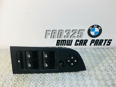 BMW 3 E90 2009 Front Left Door Window Control Button Switches 9155504