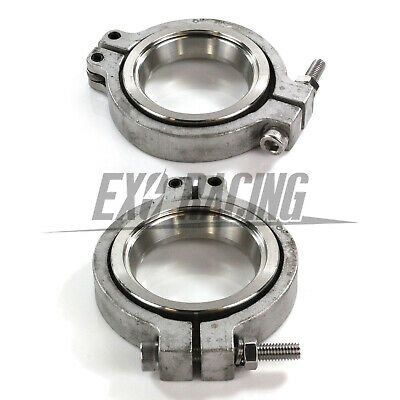 Exoracing V band Flange / Clamp Set For MVR 44mm WASTEGATE V- band Kit tial turb