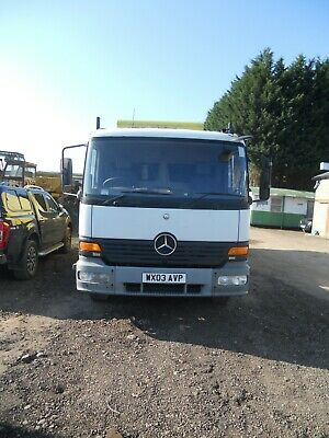 MERCEDES 1523 MAN 6SPD 2003 6x2 ON AIR REAR STEER DAY CAB 8 STUD AXLES 27' BED