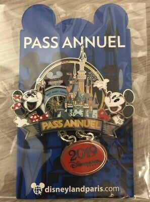PIN'S Disneyland Paris PASS ANNUEL / Annual OE