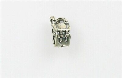 Sterling Silver 3-D 12mm Backpack Charm