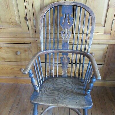 Antique  Windsor Elbow Chair