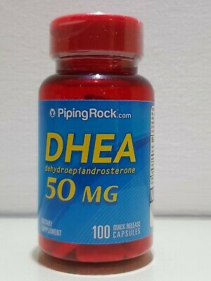 PIPING ROCK- DHEA-50 Mg-100 CAPLETS - Ebay best Prices