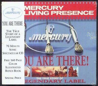 Mercury Living Presence Story - You Are There! - + 160 Page Booklet - NEW CD