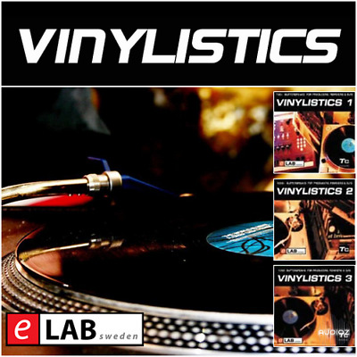 e-Lab Vinylistics Vol. 1-3 // WAV // Samples // Music // Digital Link