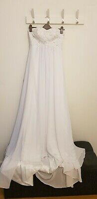 d04271ddd71 NWT IVORY WEDDING Dress Size 6 Anthropology Hitherto FREE SHIPPING ...