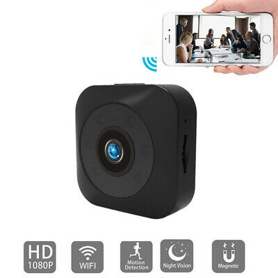 Mini Full HD Spia Telecamera Nascosta Wifi Wireless IP Micro Spy Camera Video DV