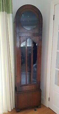 An Art Deco Longcase  Grandfather Clock Case