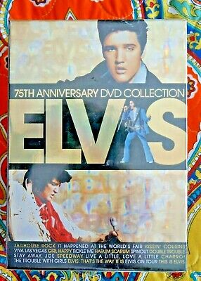 Elvis Presley 75th Anniversary DVD Collection - 17 Films. Brand New