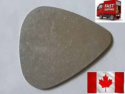 1 Metal Guitar Pick - Stainless Steel - Good for Any Kind of Stringed Instrument