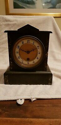 French Marble 8 Day Mantle Clock