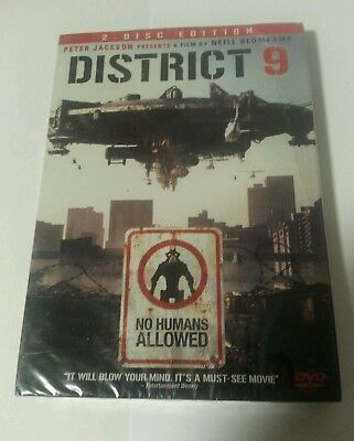 DVD - New & Sealed District 9 US Region 1 NTSC 2-Disc Spec Edition Cert R 2003