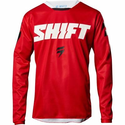 Maglia Moto Cross Shift 2018 Whit3 Ninety-Seven Red TG M