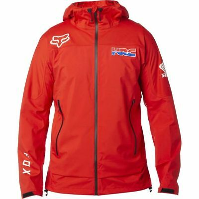 Giacchetto Fox Hrc Attack Water Jacket Red Tg L