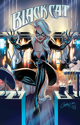 BLACK CAT #1 J Scott Campbell Cover A (Marvel Comics 2019)  - PRESALE