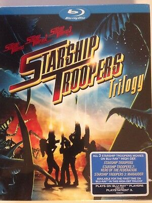 Starship Troopers Trilogy: 1 - 3 (Blu ray) 1, 2- Federation,3- Marauder (NEW)