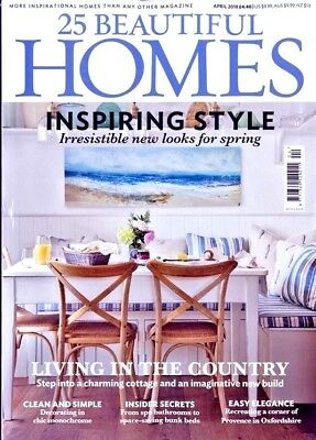 25 Beautiful Homes Magazine Issue April 2018 ~ New ~