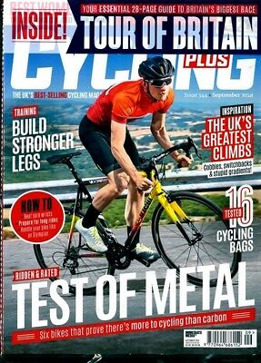 Cycling Plus Magazine #344 September 2018 With Free Tour Of Britain Guide ~ New