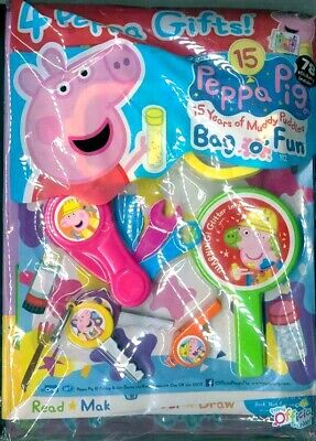 PEPPA PIG BAG OF FUN MAGAZINE ISSUE #112 ~ NEW WITH 4 x PEPPA GIFTS ~