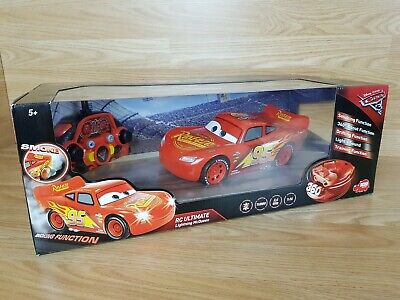 Disney Pixar Cars 3 1:16 RC Ultimate Lightning McQueen Vehicle Remote Control