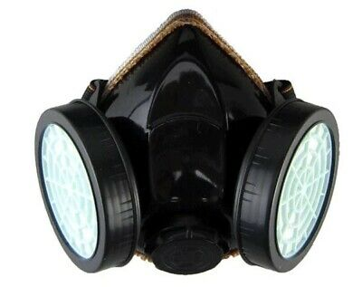 Emergency Survival Safety Respiratory Gas Mask &2 Dual Protection Filter