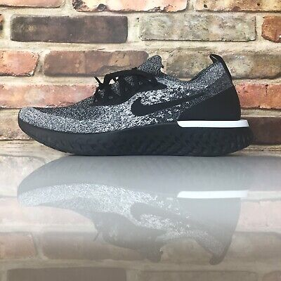 7f7c4a04aee6d Nike Epic React Flyknit Womens Size 8 Running Shoes Cookies Cream AQ0070 011