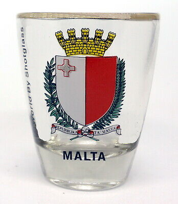 Malta Shot Glass Shotglass
