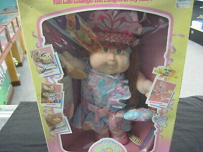 VINTAGE Cabbage Patch Kids CPK Growing Hair Mint Unused 1987 RARE COLECO REDHEAD