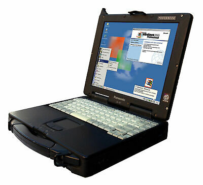 Shock-Proof Notebook CF-27 Rs 232 Pcmcia Lpt Parallel for Ms - Dos Windows 98 Se
