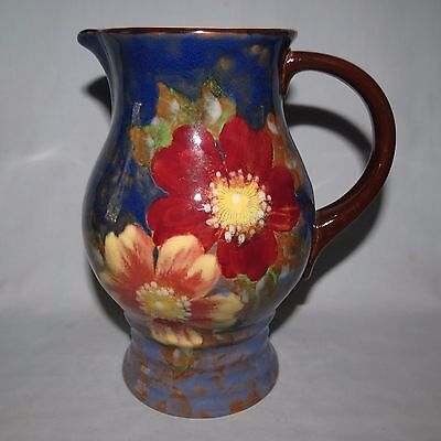 superb scarce colourful seriesware Royal Doulton Roses G Wild Rose jug D6227