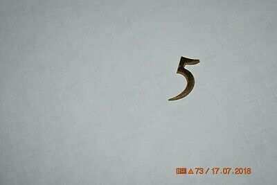Grandfather Clock dial moon number #5 for parts or project