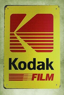 KODAK FILM TIN Sign Bar pub home Wall Decor Vintage/RETRO