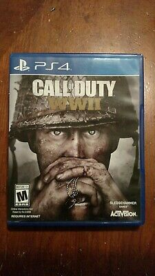 Sony Playstation 4 Ps4 Call Of Duty Ww2 Video Game World War Ii