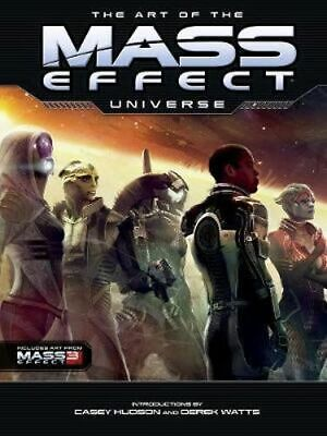 NEW The Art Of The Mass Effect Universe By Casey Hudson Hardcover Free Shipping