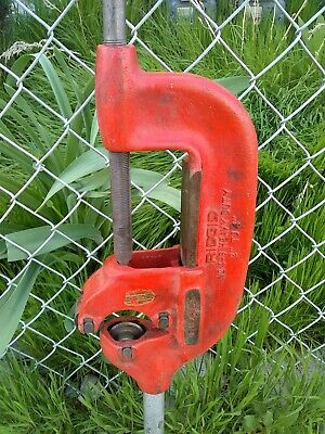 """Ridgid Pipe Threader N. 4-S Heavy Duty 2"""" - 4"""" Pipe Cutter Excellent Working"""