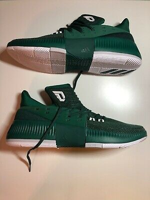 the best attitude ba7c7 32c02  BY3194  Mens Adidas Dame 3 Damien Lillard- Green Basketball Shoe
